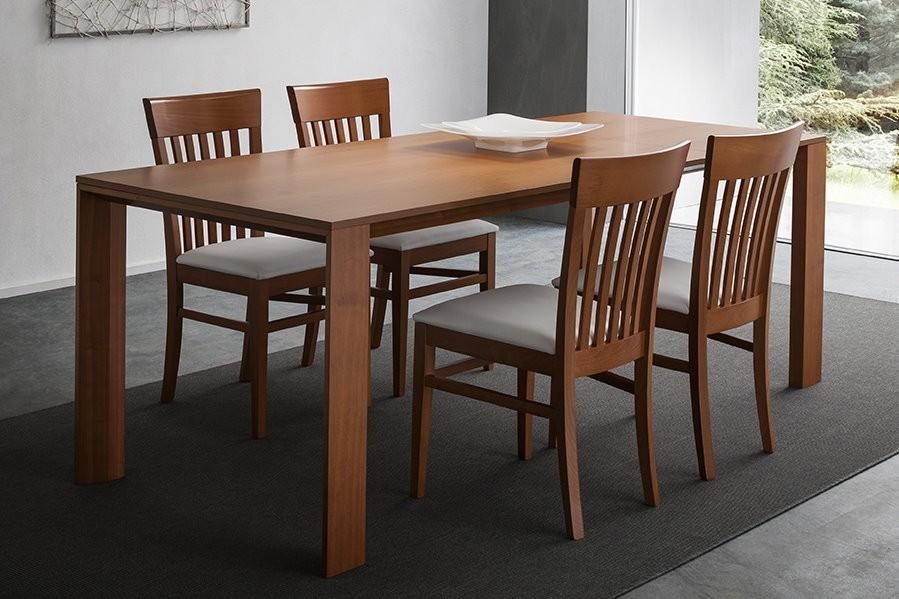 Tavolo allungbile edra di napol piano e struttura in ciliegio for Tavoli da soggiorno allungabili
