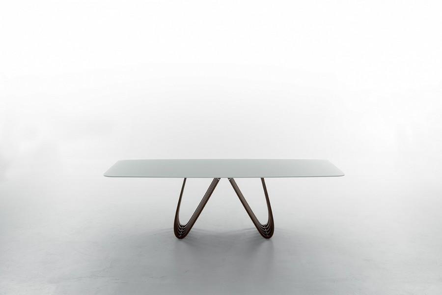 Tavolo arpa di tonin casa fisso e allungabile in diverse dimensioni - Dimensioni tavolo biliardo casa ...
