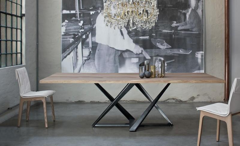 Tavolo bontempi millennium allungabile fisso o rotondo con for Tavolo design allungabile artistico di bontempi