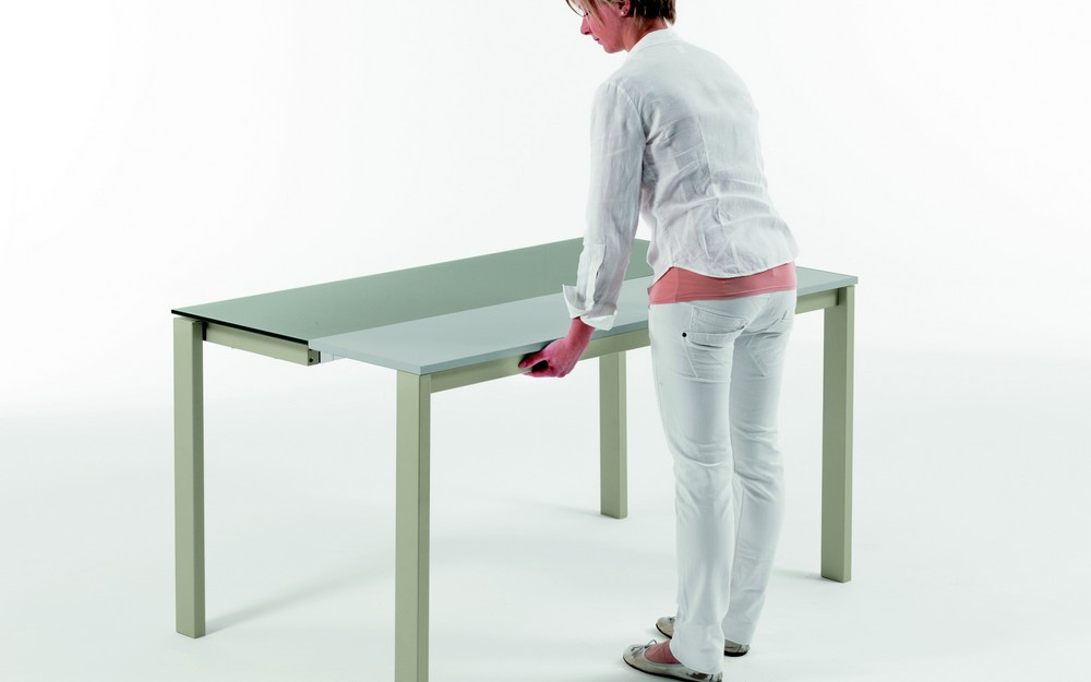 Tavolo consolle vega di bontempi ingenia con piano in for Tavolo consolle esterno