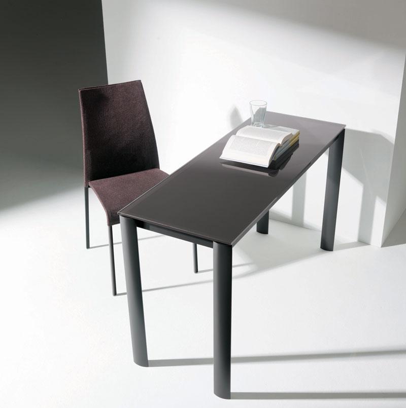 Tavolo consolle allungabile Bontempi, struttura alluminio, piano ...