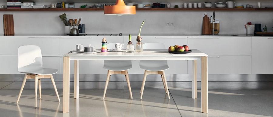Tavolo blade di midj allungabile in diverse dimensioni for Tavola da cucina allungabile