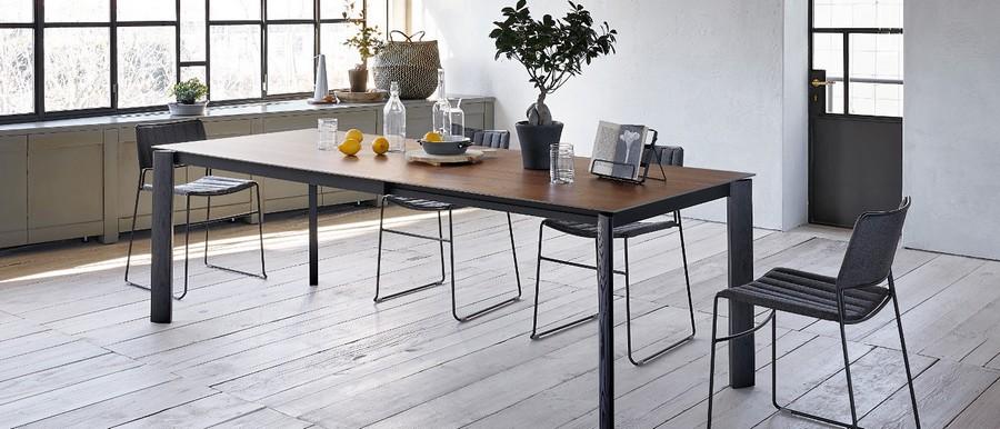Tavolo Blade di Midj allungabile in diverse dimensioni