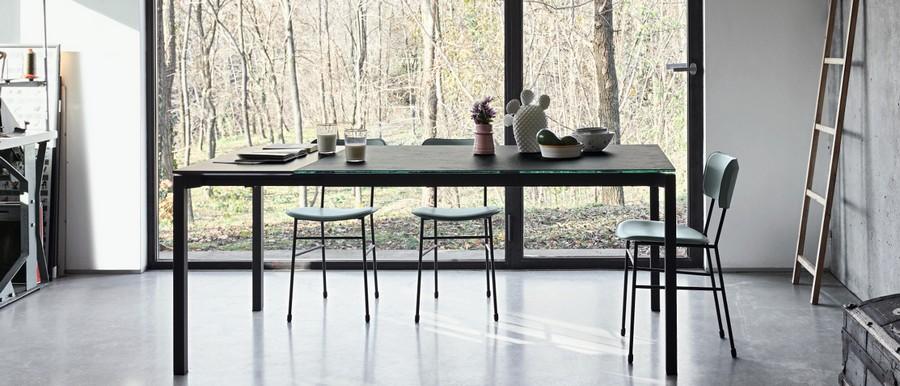 Tavolo more di midj allungabile in diverse dimensioni for Tavola da cucina allungabile