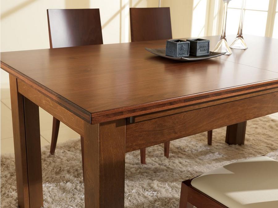Tavolo classico in legno wood di benedetti for Tavolo di legno