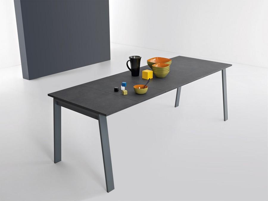 Tavolo allungabile da cucina funzionale ed economico delta plus di point house - Tavolo allungabile da cucina ...