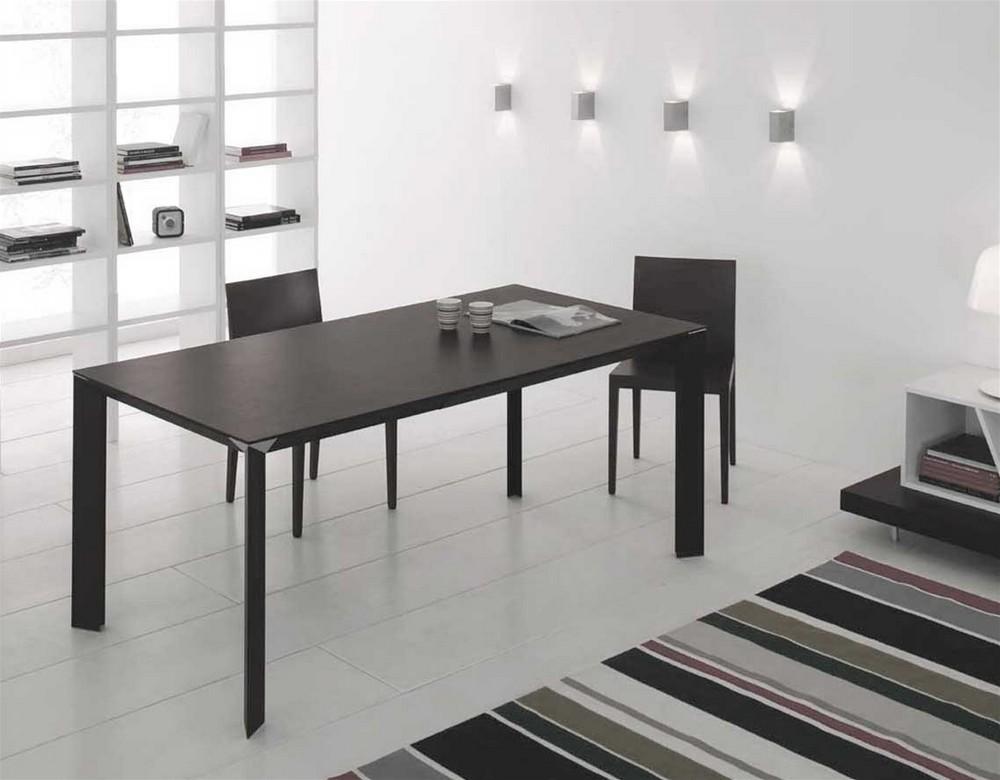 Tavolo da 180 allungabile diamante di point house in vetro for Point tavoli