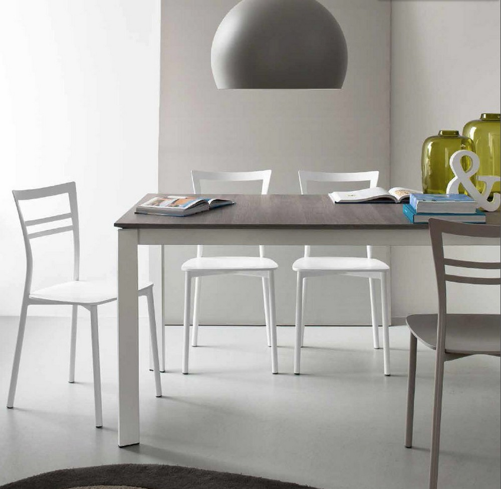 Tavolo alungabile eminence di connubia by calligaris for Calligaris connubia