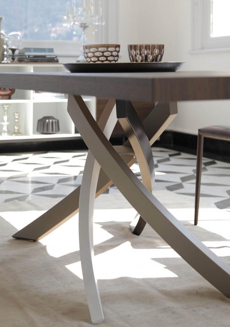 Tavolo fisso e allungabile Artistico Bontempi design con struttura ...