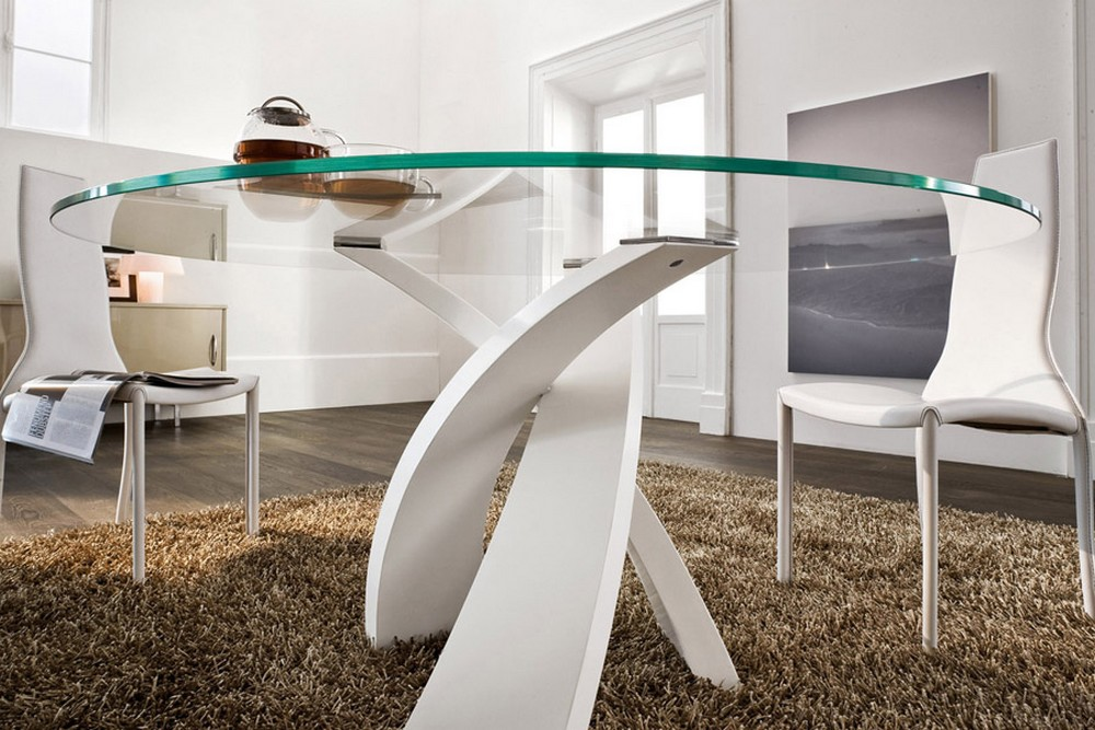 Beautiful Tavolo Rotondo Vetro Gallery - harrop.us - harrop.us