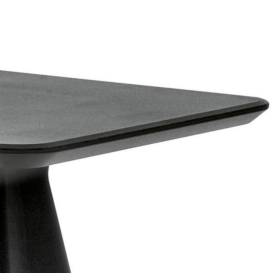 plastic table Compass-q / t for external Domitalia