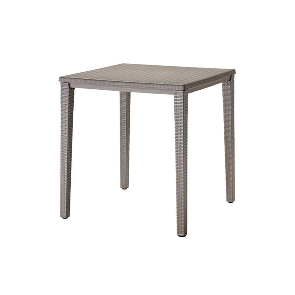 Tavolo orazio di scab design impilabile in plastica ideale - Fermatovaglia per tavoli di plastica ...