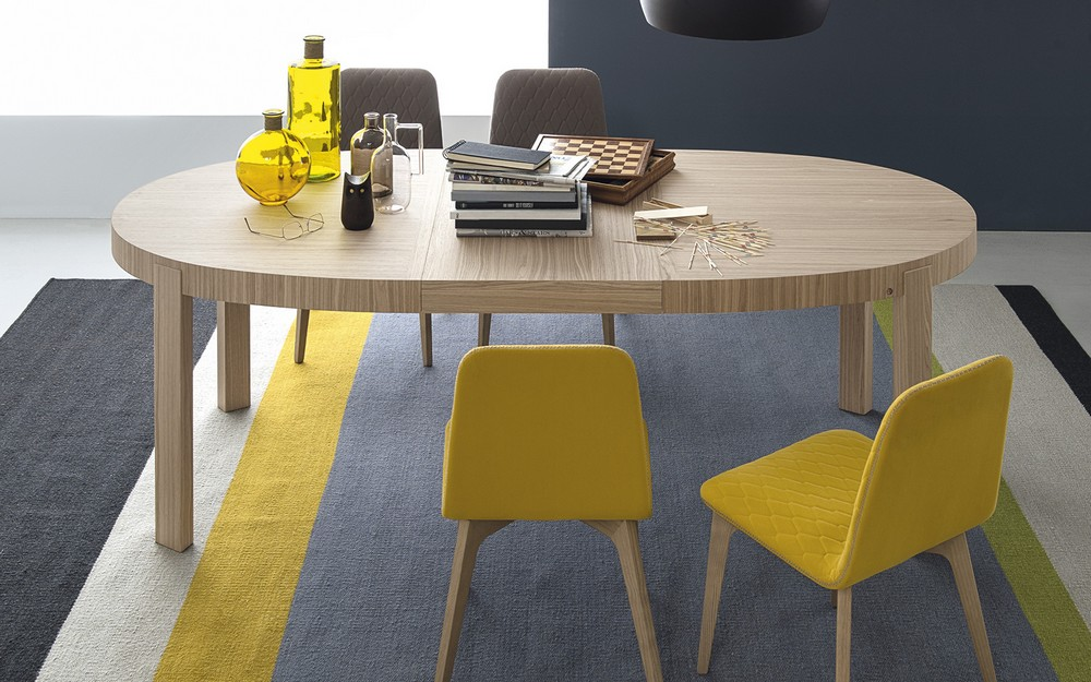 Awesome Tavolo Rotondo Allungabile Calligaris Contemporary ...