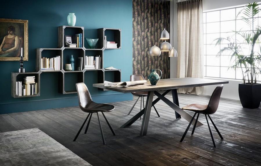 Tavolo parigi della linea easy di altacorte in legno for Sedie design toronto
