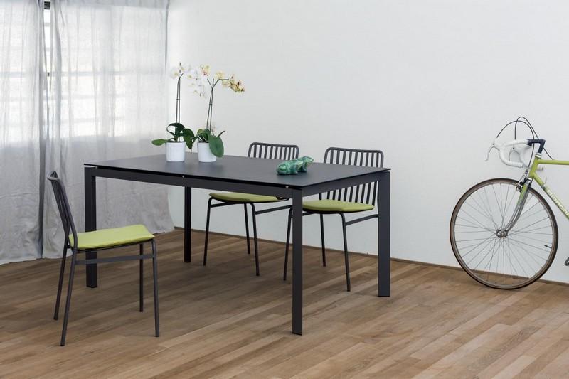 Tavolo allungabile paris di igenia bontempi 140 in - Progetto tavolo allungabile ...
