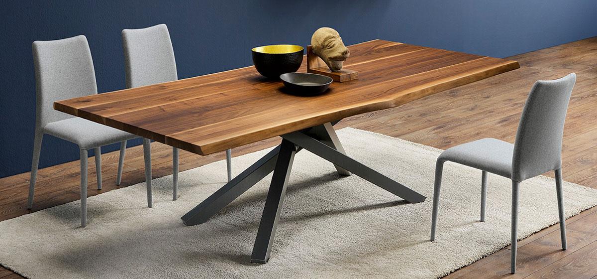 Tavolo fisso Pechino da 250 cm di Midj in legno