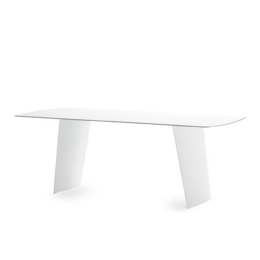 Tavolo rettangolare stone r di domitalia in plastica - Tavolo di plastica ikea ...