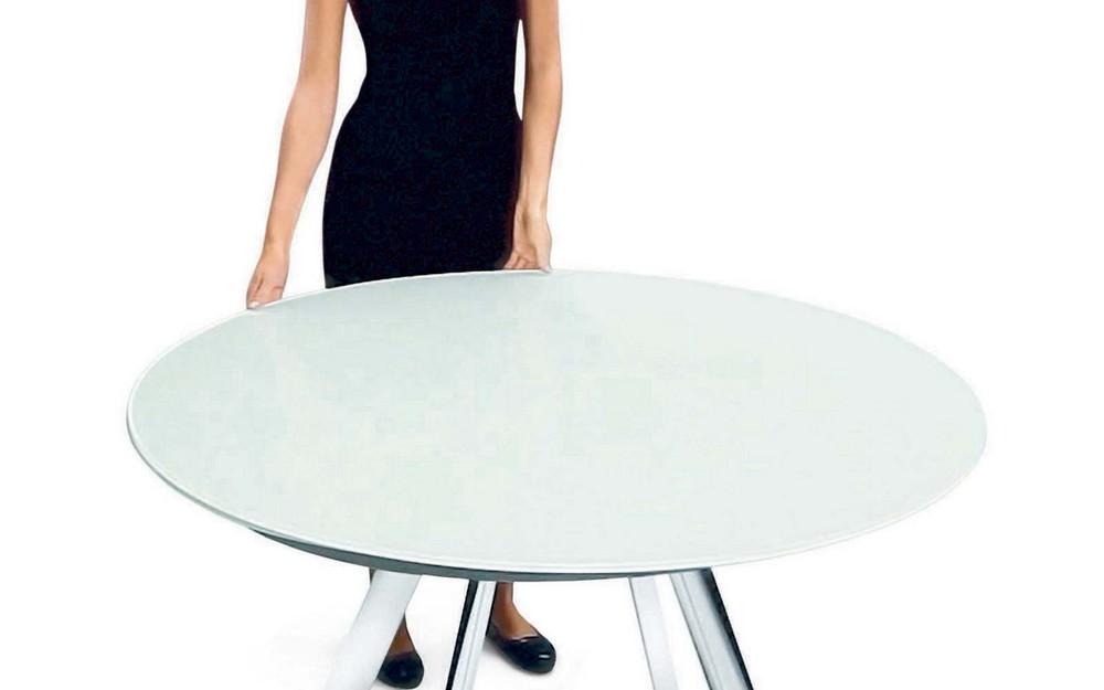 Tavolo rotondo allungabile giro di bontempi un tavolo ...