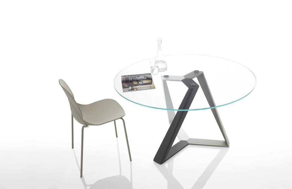 Illuminazione tavolo rotondo una collezione di idee per for Tavolo cristallo rotondo design