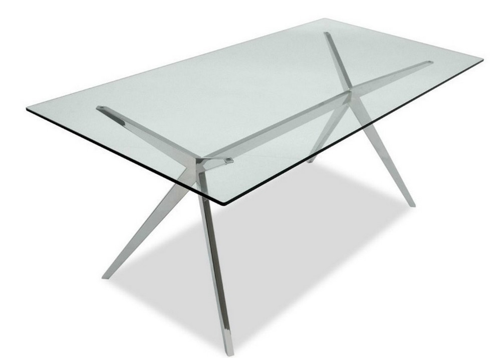 Tavolo fisso seven di connubia by calligaris con piano in for Calligaris tavolo connubia