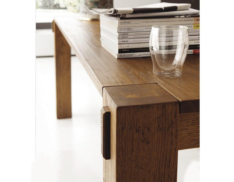 Tavolo Stoccolma di Altacorte in legno rovere moderno e di design