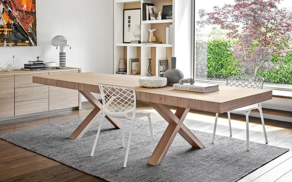 Tavolo in legno allungabile two di calligaris realizzato ...