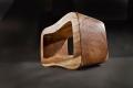 Sgabello Otto di Cipì in legno trattato a cera