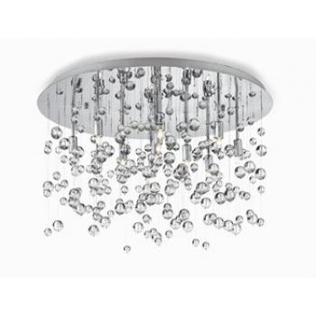 Lampada da soffitto Neve PL 8 di Ideal Lux