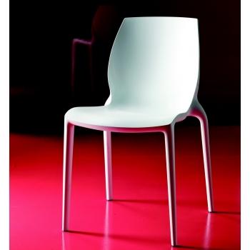 Sedia Hidra di Bontempi: design e linea ergonomica