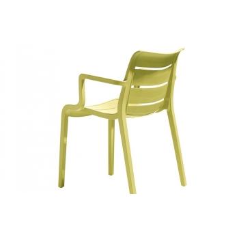 Sedia Sunset impilabile di Scab Designin tecnopolimero