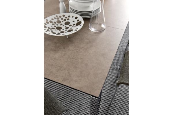 Tavolo fisso 180 cm Baron di Connubia con piano in ceramica o vetro