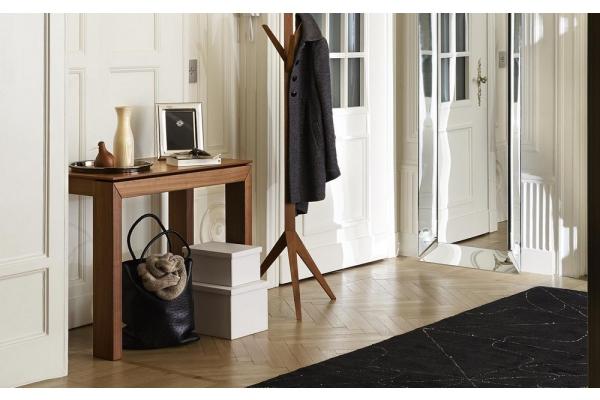 Consolle ventaglio con piano effetto legno di tonin casa for Consolle calligaris