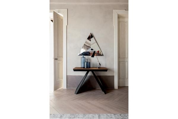 Consolle Ventaglio con piano effetto legno di Tonin Casa