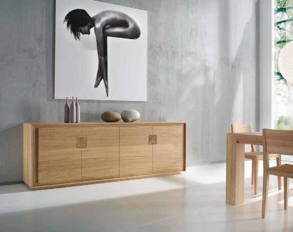 Credenza Da Design : Credenza da salotto o soggiorno a ante in legno pregiato