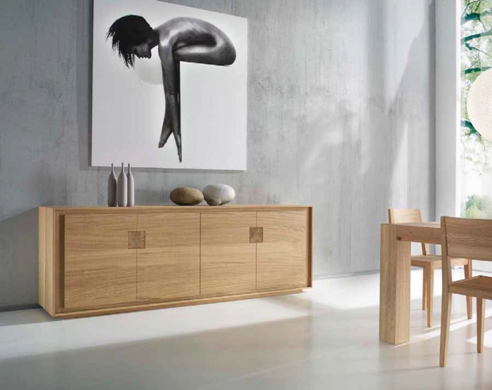 Credenza da soggiorno in legno