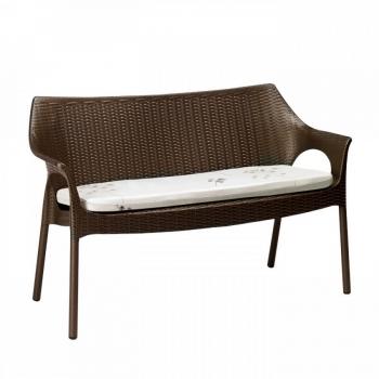 Divanetto Olimpo Sofa di Scab Design in plastica impilabile