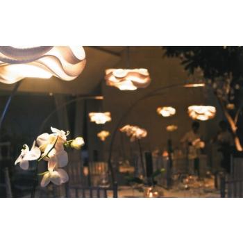 Lampada a soffitto Kelopak di Cipì lavorata artigianalmente