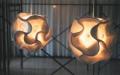 Lampada a soffitto Kembang di Cipì lavorata artigianalmente