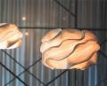 Lampada a soffitto Mekar di Cipì lavorata artigianalmente