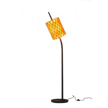 Lampada da pavimento Thistle di Cipì dallo stile origami artigianale