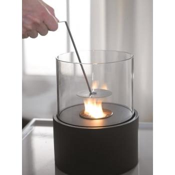 Lanterna da tavolo Duecilindri di Stones con bruciatore rotondo