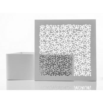Lavandino Trabocchetto di Cipì in Solid Surface quadrato o tondo bianco