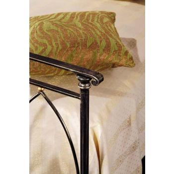 Letto singolo Arco in ferro battuto prodotto artigianalmente