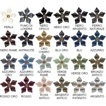 Letto singolo Croix in ferro battuto prodotto artigianalmente
