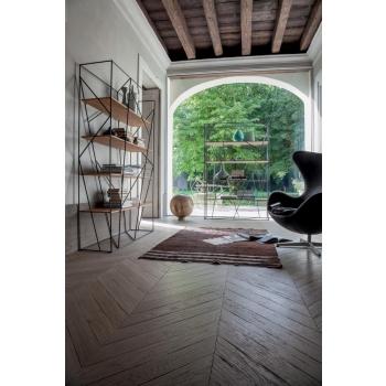 Libreria Naviglio di Tonin Casa in metallo verniciato