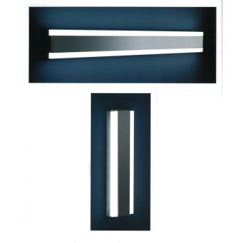 Linear Plafoniera a parete di Cipì per interni in acciaio