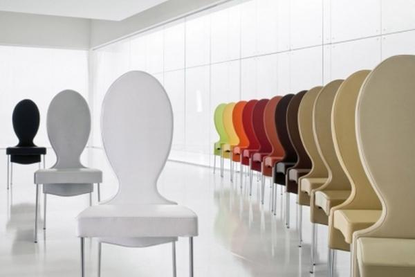 Offerta sedia vivienne di tonin casa rivestita in ecopelle nocciola