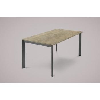 Offerta tavolo Allungabile Universe 130 di Domitalia co struttura in acciaio