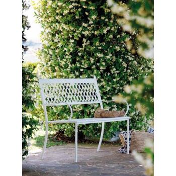 Panca Summertime di Vermobil in ferro da giardino
