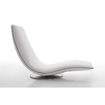 Poltrona e chaise longue Ricciolo di Tonin Casa